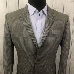 Lauren Ralph Lauren 40R Houndstooth Sports Coat